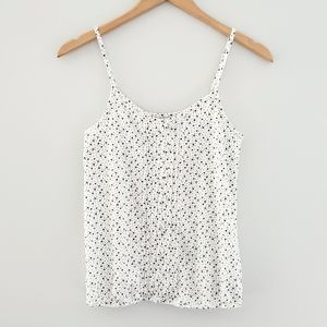 2 for $20 American Eagle white blue starburst tank